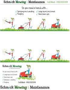 Schmick Mowing & Mainteannce